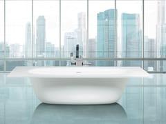 Vasca da bagno centro stanza in Cristalplant®MODUL'Ô - AQUADESIGN STUDIO