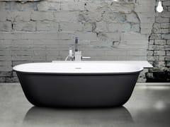 Vasca da bagno ovale in Cristalplant® MODUL'Ô NUEL -