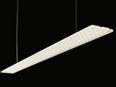 Lampada a sospensione a LED a luce diretta e indiretta in alluminio anodizzato MODUL L 196 POWER - MODUL L