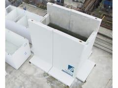 F.LLI ABAGNALE, SISTEMA MODULO A Moduli prefabbricati autostabili in cemento