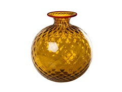 Vaso fatto a mano in vetro soffiatoMOFIORE BALLOTON - VENINI