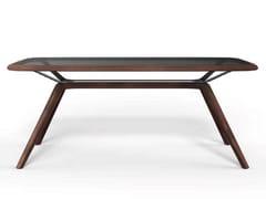 Tavolo rettangolare in legno e vetroMOJITO - NOW & FUTURE
