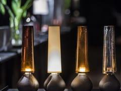Lampada da tavolo a LED fatta a mano in ghisaMON AMOUR - VIABIZZUNO