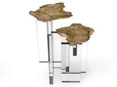Tavolino alto in ottone da salottoMONET | Tavolino alto - BOCA DO LOBO