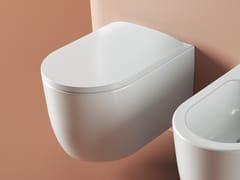 Wc sospeso in ceramicaMONET | Wc - ARTCERAM