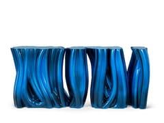Consolle laccata in fibra di vetroMONOCHROME - BOCA DO LOBO