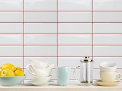 Rivestimento in ceramica MONOCOLOR BISELADO | Rivestimento 10x30 -