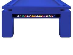 Tavolo da biliardo rettangolareMONOCOLOR ELECTRIC BLUE - NUEVEPIES BARCELONA