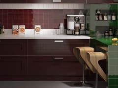 Rivestimento in ceramica a pasta rossa MONOCOLOR MILANO | Rivestimento 10x10 -