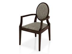 Sedia in tessuto con braccioli MONOLISA | Sedia con braccioli - Monolisa