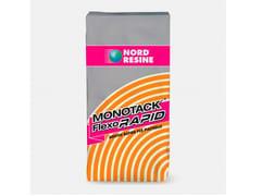 NORD RESINE, MONOTACK FLEXORAPID Collante Grigio per interni ed esterni