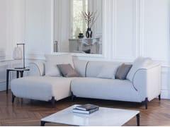 Divano componibile in tessuto con chaise longueMONTAIGNE | Divano componibile - BUROV