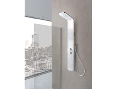 Colonna doccia a parete con doccettaMONTE GRAPPA - WEISS-STERN