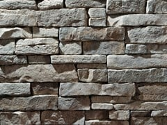 Rivestimento in pietra ricostruitaMONTE PANEL | Grigio Terra - GEOPIETRA