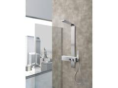 Colonna doccia a parete con doccettaMONTE ROSA - WEISS-STERN