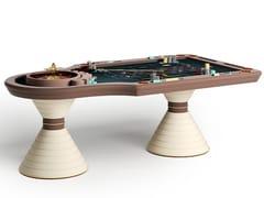 Tavolo da roulette in legnoMONTECARLO - VISMARA DESIGN