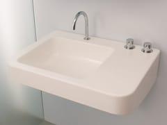 Lavabo rettangolare sospeso in ceramicaMONTECATINI - RAPSEL INTERNATIONAL