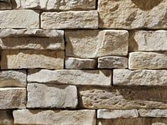 Rivestimento di facciata in pietra artificialeMONTEPANEL P12 - GEOPIETRA®