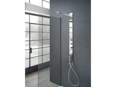 Colonna doccia a parete con doccettaMONVISO - WEISS-STERN