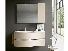 Mobile lavabo sospeso con specchioMOON 02 - BMT