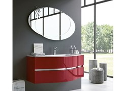 Mobile lavabo sospeso con specchioMOON 10 - BMT