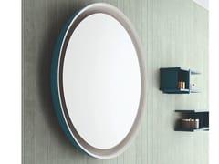 ARBLU, MOON Specchio basculante rotondo con cornice