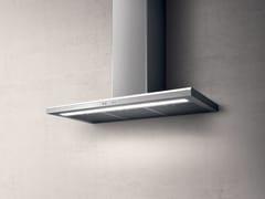 Cappa in acciaio inox a parete con illuminazione integrataMOON - ELICA