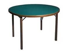 Tavolo da gioco rotondo in legno masselloMOON - FRATELLI DEL FABBRO