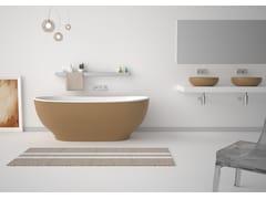 Vasca da bagno centro stanza ovale in acrilicoMOON - GSG CERAMIC DESIGN