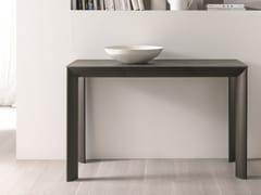 Consolle rettangolare in alluminioMOON | Consolle - IDEAS GROUP