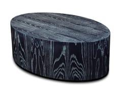 Tavolino ovale in legnoMOON - SALMA FURNITURE