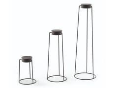 Lampada da terra per esterno in alluminioMOON | Lampada da terra per esterno in alluminio - SOLPURI