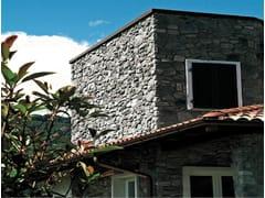 Rivestimento di facciata in pietra artificiale MORENICO P74 - Profilo SPONTANEO