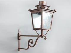 Lampada da parete per esterno in ferroMOROZZI   Lampada da parete per esterno - OFFICINACIANI DI CATERINA CIANI & CO.