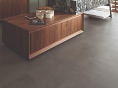 Pavimento in gres porcellanato effetto cemento MORSE COAL - URBATEK - Grès Porcellanato