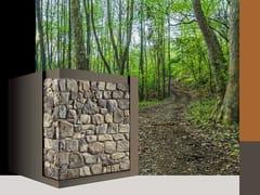 Rivestimento di facciata in pietra ricostruitaMORSONE P37 - GEOPIETRA®