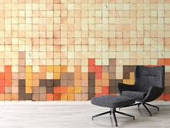 Carta da parati lavabile in tessuto non tessuto MOSAIC TETRIS - ARCHITECTS PAPER, A BRAND OF A.S. CREATION TAPETEN