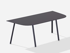 Tavolino da giardino modulare in alluminioMOSAIKO - FAST