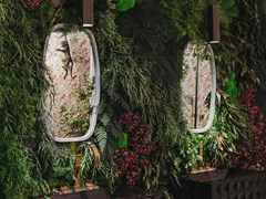 Parete vegetale in muschio e piante stabilizzateMOSS&PLANTS FLORESTA - GREENAREA