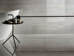 Pavimento/rivestimento in gres porcellanato effetto marmoMOTIF EXTRA TRAVERTINO SILVER - CERAMICHE MARCA CORONA