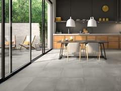 Pavimento/rivestimento in gres porcellanato effetto cementoMOTION - PANARIA CERAMICA
