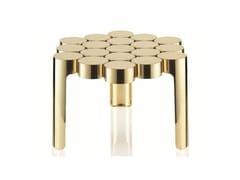 Tavolino in acciaio inox MOUSSE | Tavolino - Mousse