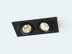 Faretto a LED multiplo orientabile in acciaioMOVE EKO | Faretto rettangolare - LUCIFERO'S