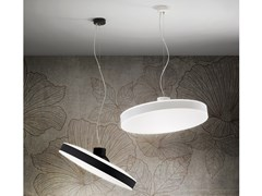 Lampada a sospensione a LED orientabile in PMMA e alluminioMOVE_P - LINEA LIGHT GROUP