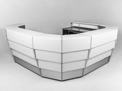 Sistema bar modulare illuminato con ruote per esterniMOVIBAR SMART - MOVIDOS