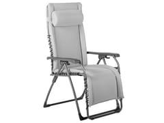 Sedia a sdraio reclinabile in acciaio con braccioli MOVIDA TRIPLEX XL -