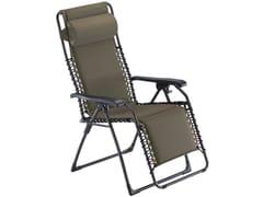 Sedia a sdraio con braccioli con poggiapiedi MOVIDA XL -