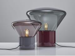 Lampada da tavolo in legnoMUFFINS 10-YEAR ANNIVERSARY   Lampada da tavolo in legno - BROKIS