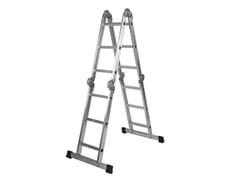 FERRAL, MULTIUSOS CLASSIK Scala domestica multifunzionale in alluminio