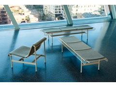 Panchina in acciaio senza schienaleMUNCH | Panchina senza schienale - VESTRE